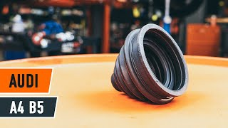 Montage ABS Sensor AUDI A4: videotutorial