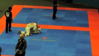 Fabio de Oliveira Vaz  - Semi Final - Brasileiro Jiu Jitsu CBJJE - 2013
