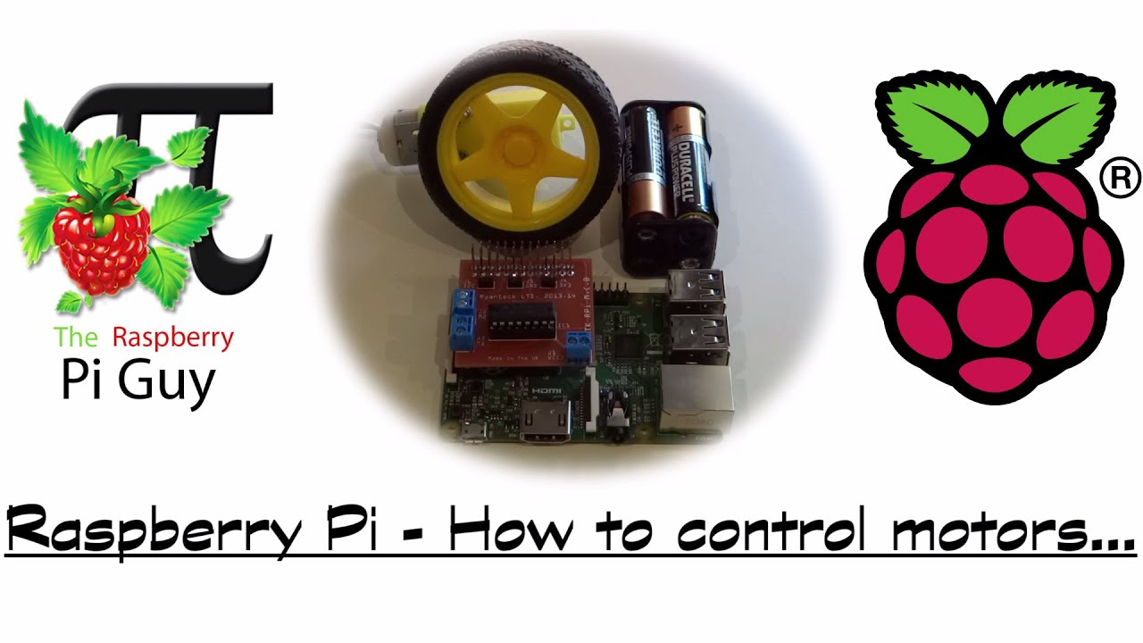 Raspberry pi how to control motors youtube for Raspberry pi motor speed control