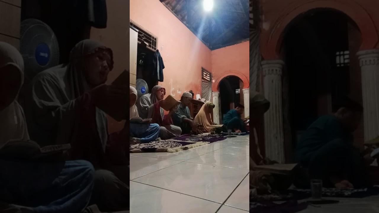 Keluarga ABR (Anak Babeh Rojak) sholat Nisfu sya'ban - YouTube