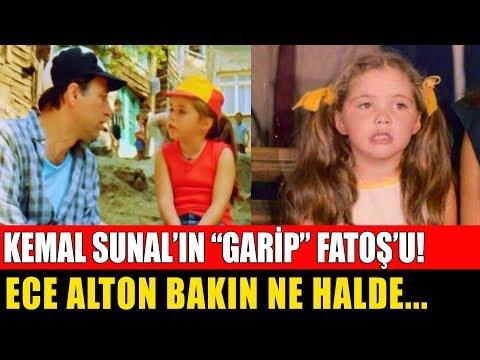 Kemal Sunal'ın Garip Filminin Minik Fatoş'u Ece Alton Bakın  Ne Halde! Şimdi Ne Yapıyor?