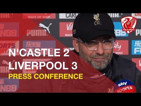 Newcastle 2-3 Liverpool   Jurgen Klopp Press Conference