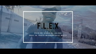 Gambar cover JANS - F.L.E.X (Vídeo Oficial) Prod. Metamorfosis Music