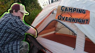 Camping Overnight With CameraMan Travis (Late August)