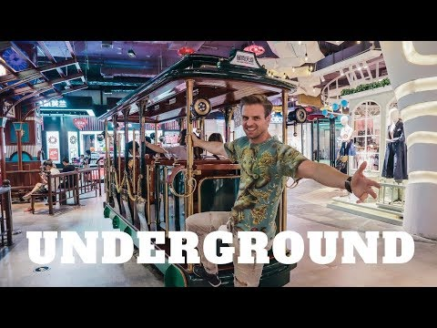 Underground Shopping In China !!! - Guangzhou