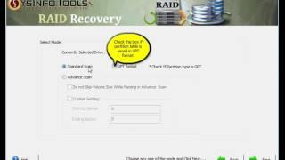 SysInfoTools RAID Recovery