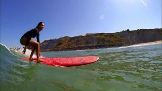 22 ans et Championne de Surf
