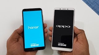 Honor 9 Lite vs Oppo A83 Speed Test | Which is Faster !