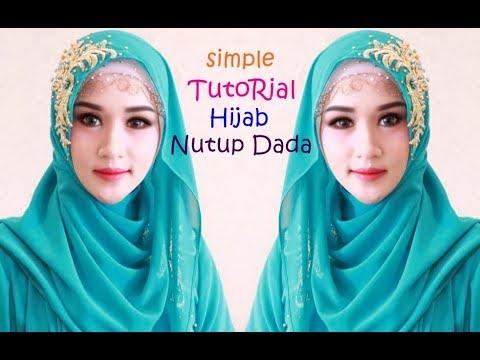 Tutorial Hijab kali ini menggunakan 3 macam hijab karena temanya adalah glamour.. bisa juga dikembangkan sebagai hijab....