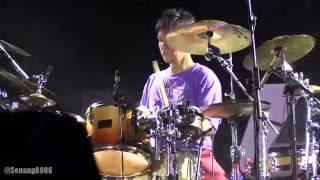 Krakatau Reunion La Samba Primadona Drum Solo Prambanan Jazz 2016
