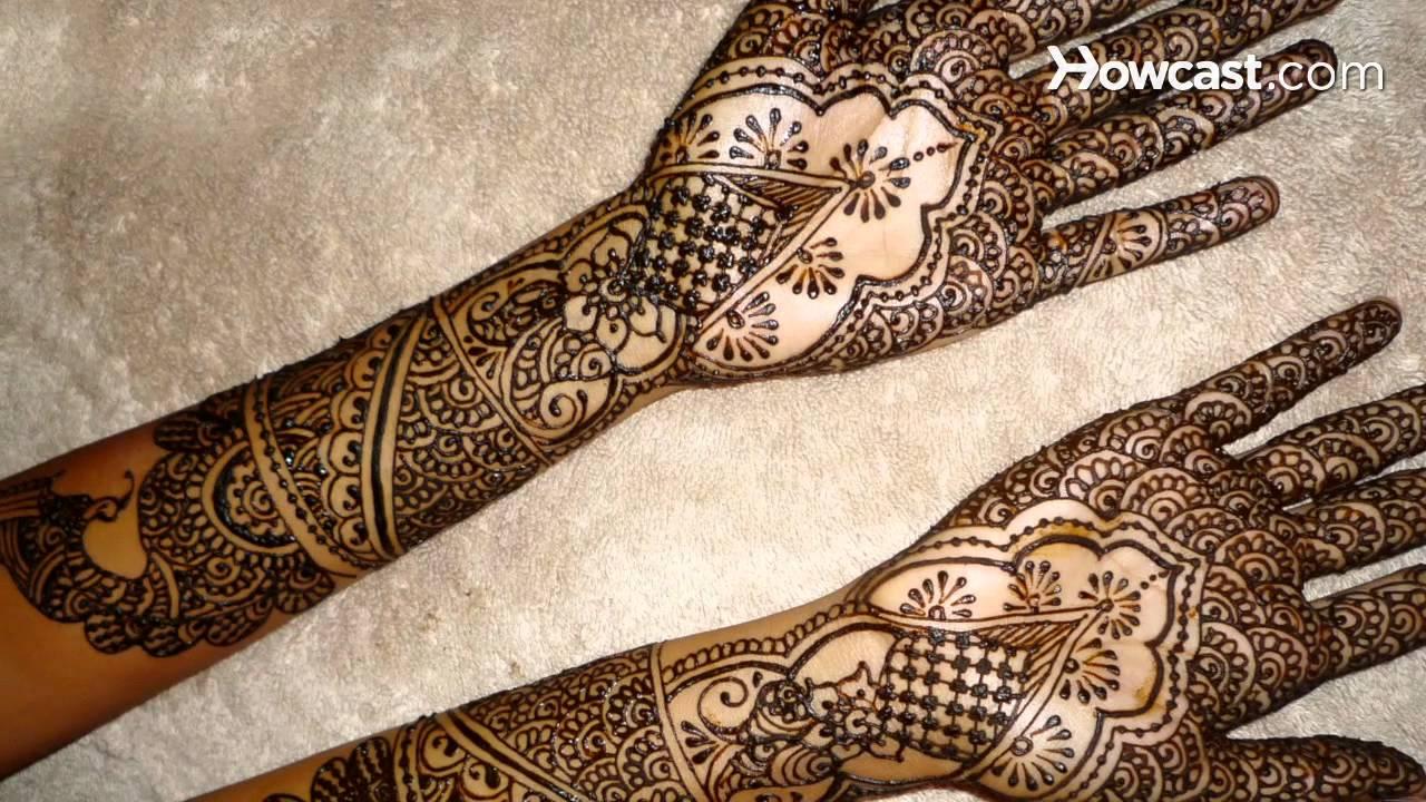 What Is Indian Henna Design Henna Mehndi Art Youtube