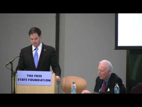 Senator Rubio's Keynote Address at the FSF Fifth Annual Telecom Policy Conference