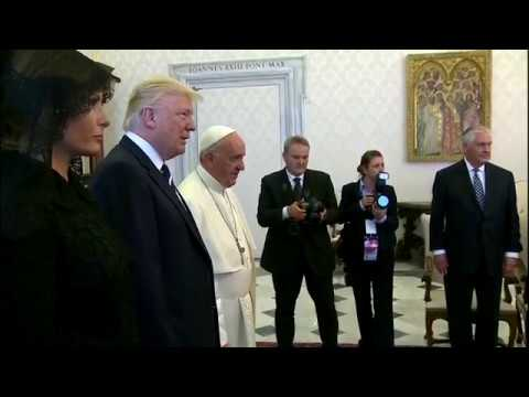 WATCH: President Trump Visits Pope Francis At The Vatican
