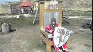 Белгород-Днестровская крепость - Старинный трон .(, 2016-03-21T16:31:01.000Z)