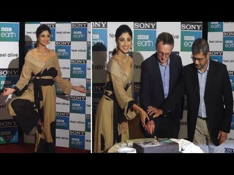 Shilpa Shetty LEAKS Her DIET And WORKOUT Secrets At SONY BBC Earth Anniversary Event | UNCUT Event