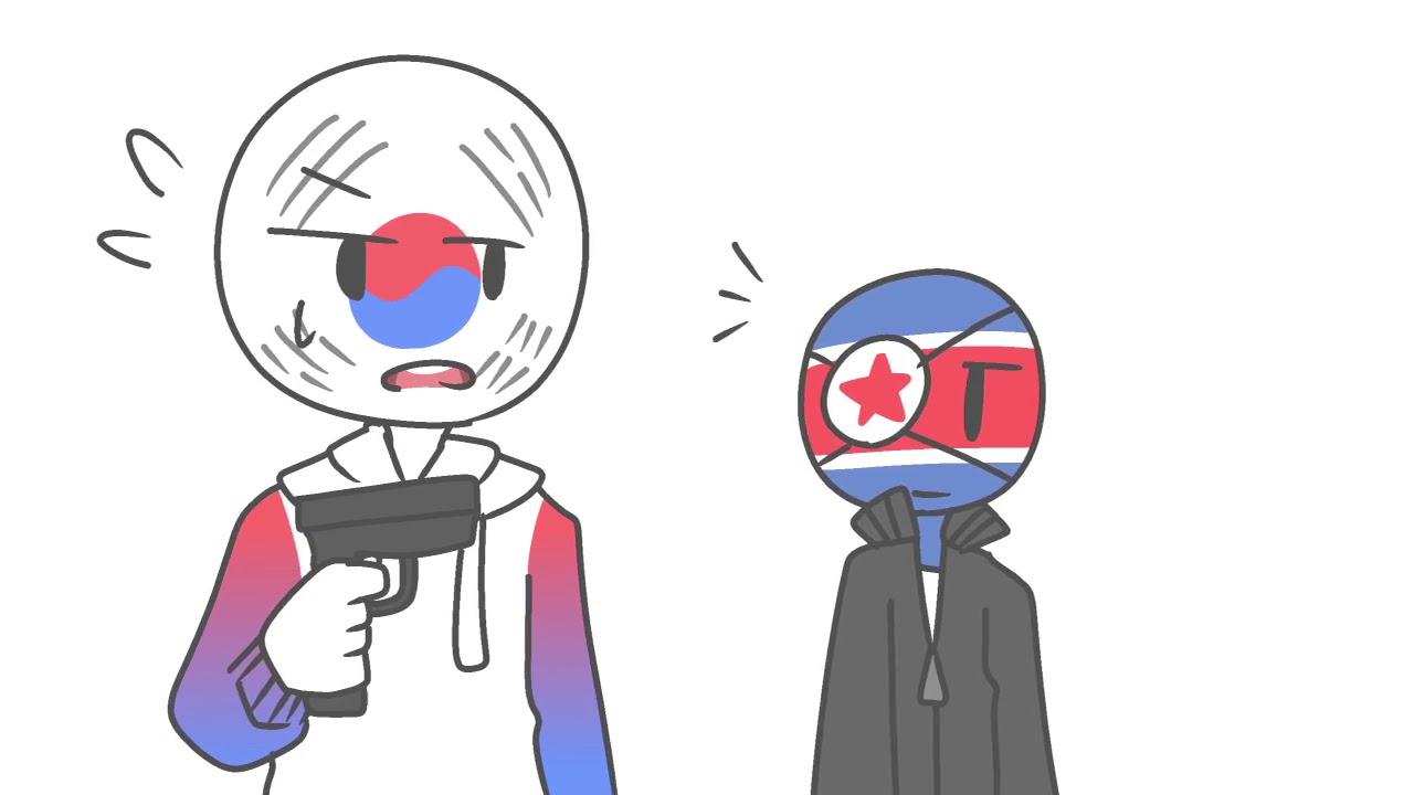Download 【countryhumans】first meet | meme (South Korea, Japan, North Korea)