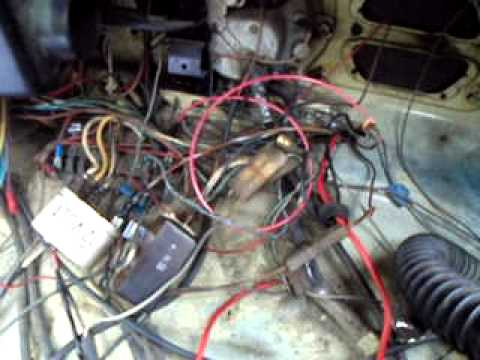 hqdefault 1970 vw beetle wiring problems youtube 1970 vw bug wiring diagram at creativeand.co