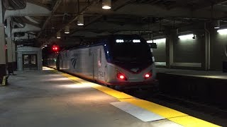 Amtrak & NJ Transit HD 60fps: Late Night Northeast Corridor Action @ Newark Penn Station (5/15/16)