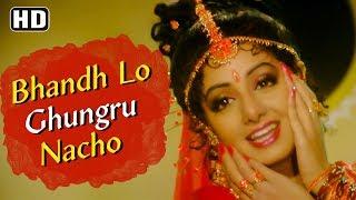 Bhandh Lo Ghungru Nacho (HD)   Pathar Ke Insan Song   Sridevi   Vinod Khanna   Evergeen Sridevi Song