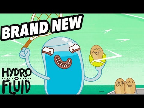 HYDRO and FLUID | Scrambled Eggs | NEW EPISODE | HD Full Episodes | Funny Videos For Kids