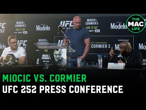 Stipe Miocic and Daniel Cormier talk personal rivalry | UFC 252 Press Conference