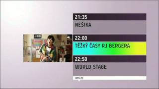 MTV Czech Republic: Programme Menu (September 2011 - Updated)