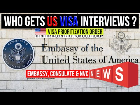 Aug 2021 US Immigrant Visa Interview Processing Status with Priority Order. Consulate & NVC Update