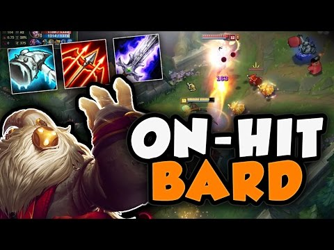 WAIT...CAN ON-HIT BARD ACTUALLY WORK IN TOP LANE?! BARD TOP SEASON 7 - League of Legends Gameplay