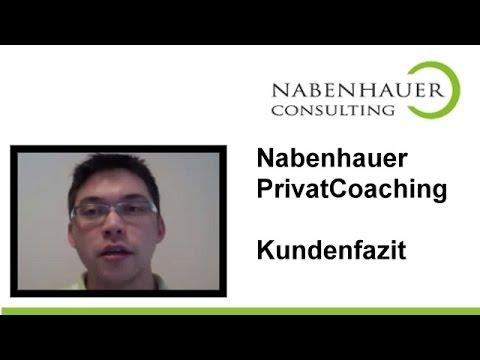 Sven Platte über das Privatcoaching von Robert Nabenhauer - Ein Unternehmer zieht Bilanz