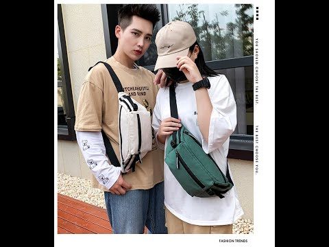 2020 Fashion Hot Sale Unisex Colorful Messenger Bag Outdoor
