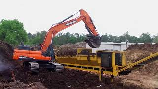 Doosan Crawler Excavator Testimonial from Denise and Mark Houghtaling