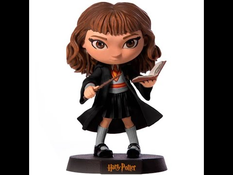 Review e Unboxing - Harry Potter - Hermione - Minico - Iron Studios from YouTube · Duration:  2 minutes