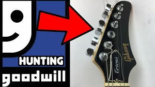 Who Would Donate THIS?!? | Goodwill Hunting for Guitars with Trogly