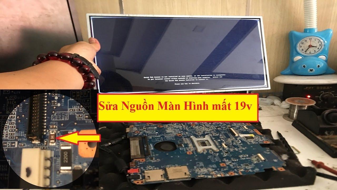 Sửa lỗi Laptop tối hình,xuất LCD bình thường,áp dụng cho các dòng Laptop trừ Asus