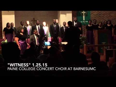"""Witness"" Paine College Concert Choir"