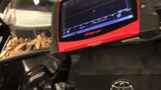 Toyota a/c compressor speed sensor signal
