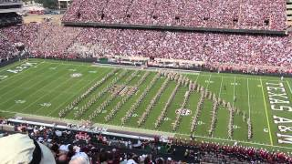 Texas A&M vs Alabama - Aggie Band Halftime Performance