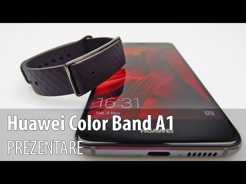 Huawei ColorBand A1 hands-on review (Greek)