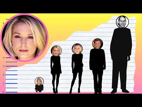 How Tall Is Katherine LaNasa?  Height Comparisons!
