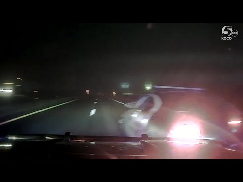 Dashcam Video Shows Dramatic End To High-speed Chase Involving Stolen Police Cruiser