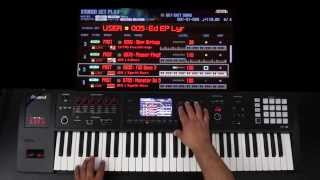 Roland FA-06/08 - Advanced Layers and Splits Part 3