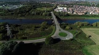 western Link Road Planned Route - Warrington?