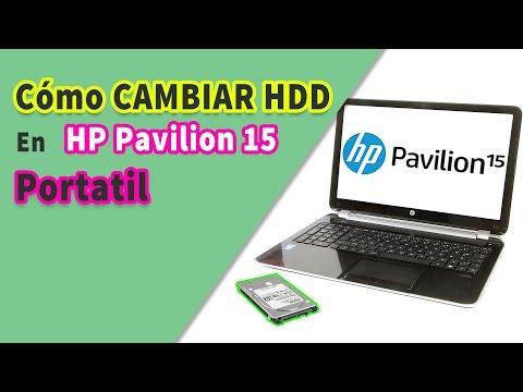Cómo Cambiar Disco Duro HDD En HP Pavilion 15