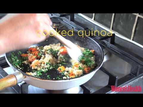 Women's Health sweet & spicy quinoa hash
