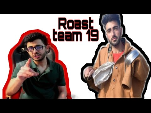 Roast wave Records 19 team 😂/funny Roasted vedio