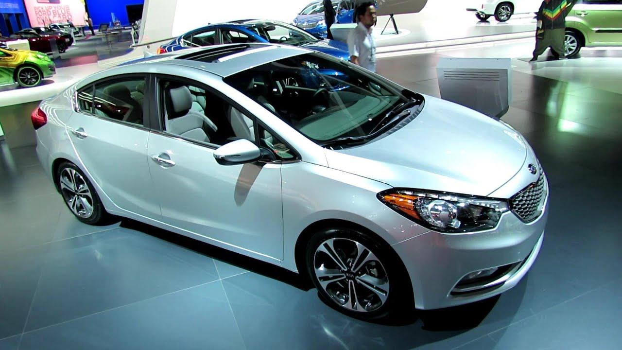 2014 KIA Forte EX GDi Debut at 2012 Los Angeles Auto Show Exterior
