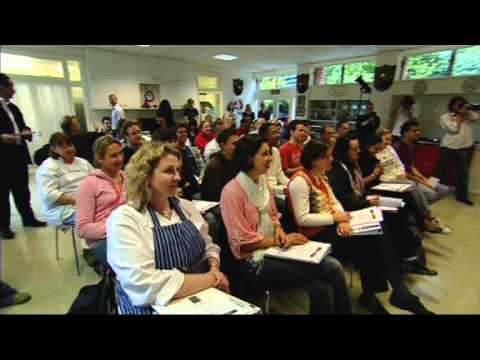 Gordon Ramsay visits students at his school - Tante Marie Culinary Academy