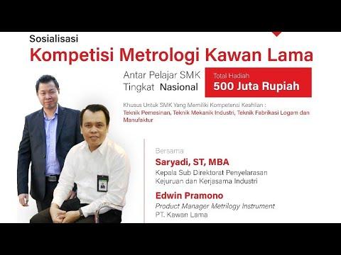 Sosialiasi Kompetisi Metrologi Kawan Lama Antar Pelajar SMK Tingkat Nasional
