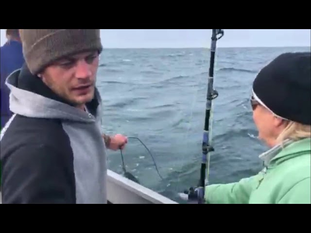 The Bayou Woman In Alaska - Halibut Fishing In Cook Inlet