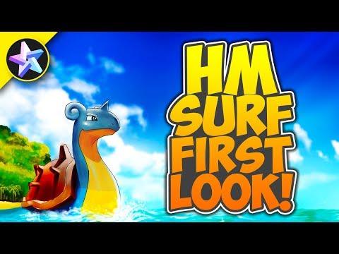 FIRST LOOK AT HM SURF - Pokemon Brick Bronze